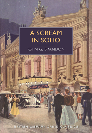 a scream in soho john g brandon book review cover