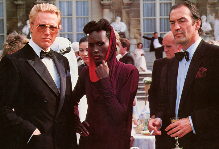 a view to a kill film review grace jones