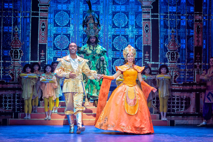 aladdin review hull new theatre december 2019 pantomime main panto