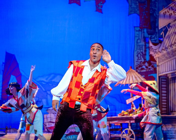 aladdin review hull new theatre december 2019 pantomime webbe