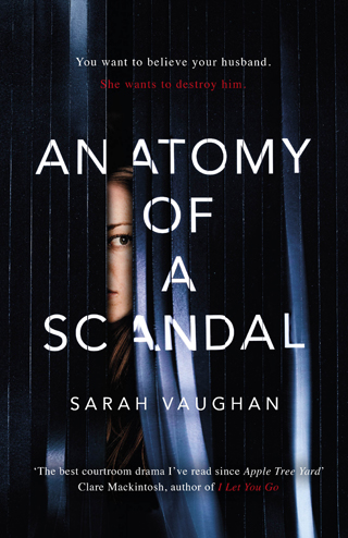 anatomy of a scandal book review sarah vaughan cover