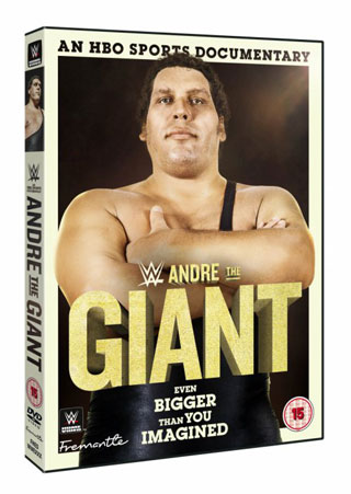 andre the giant dvd review cover