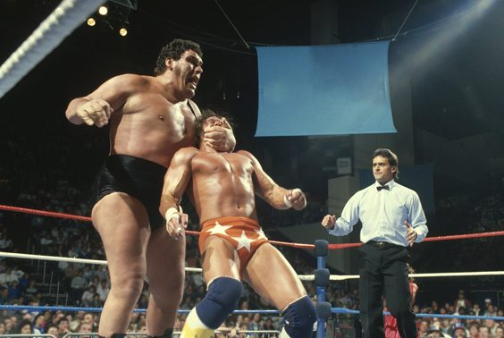 andre the giant dvd review wrestling