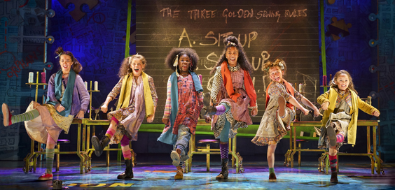 Annie Review Hull New Theatre March 2019 Starring Anita Dobson