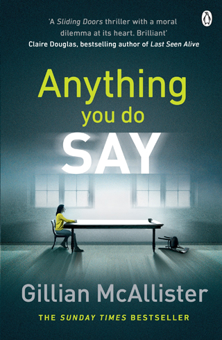 anything you do say gillian mcallister book review cover