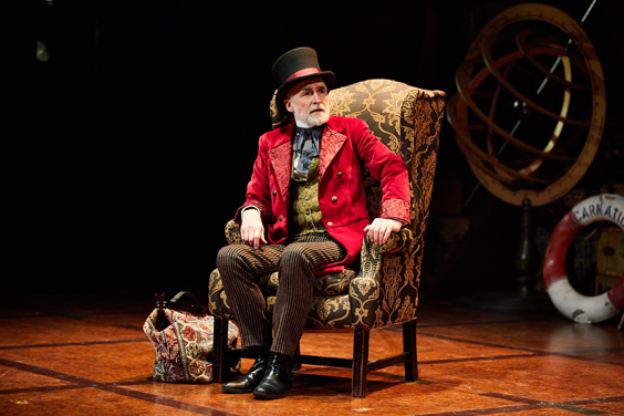 around the world in 80 days review leeds playhouse april 2019 stage chair