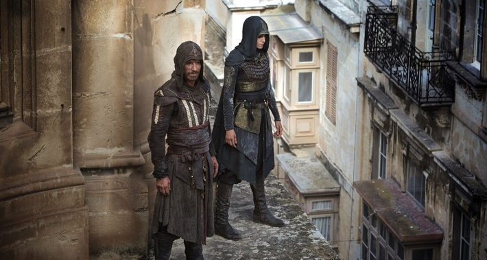 assassin's creed film review roof