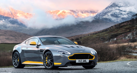 aston martin v12 vantage s review yellow mountains