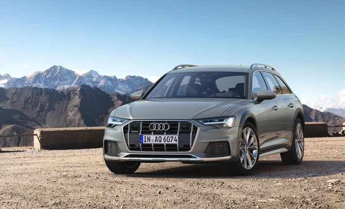 audi a6 allroad car review front