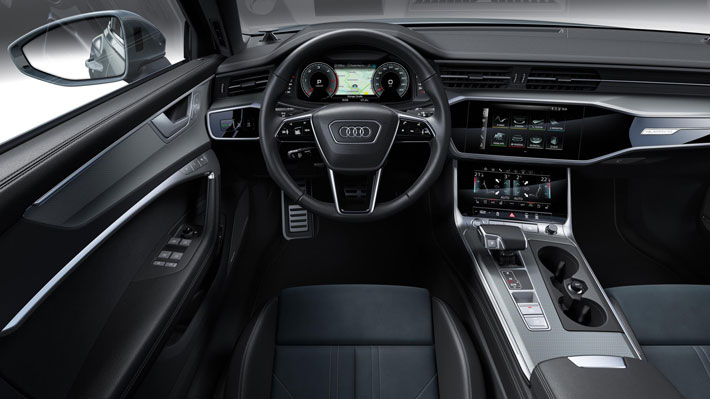 audi a6 allroad car review interior