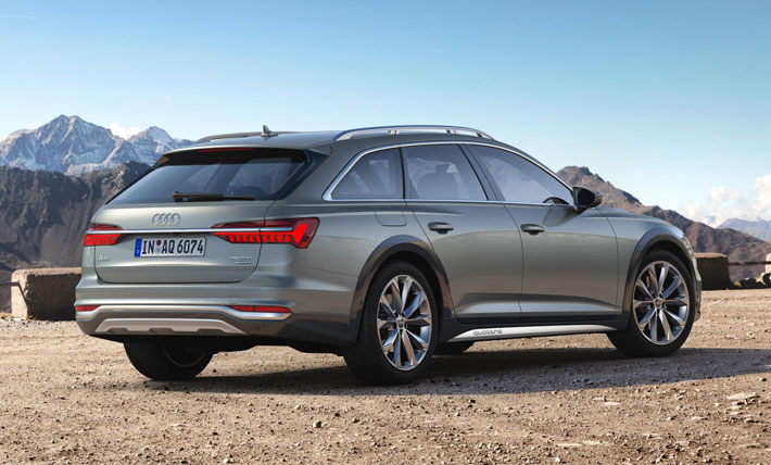 audi a6 allroad car review rear