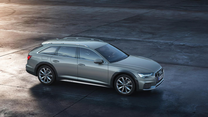 audi a6 allroad car review side