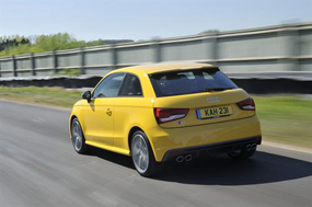 audi s1 rear review