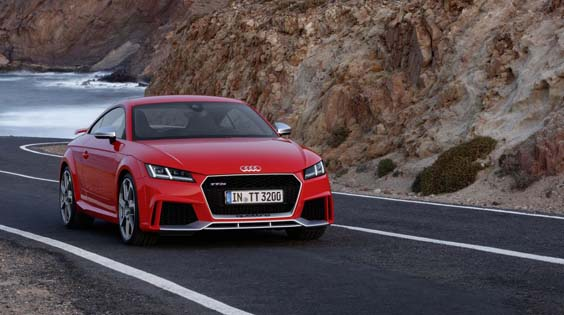 audi tt rs review front