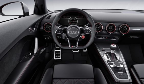 audi tt rs review interior