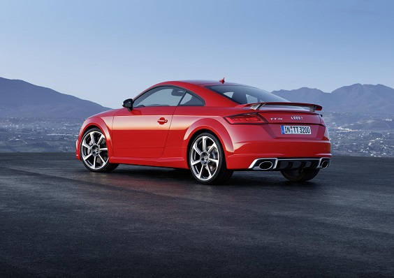 audi tt rs review rear