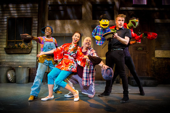 avenue q review sheffield lyceum july 2019 puppets