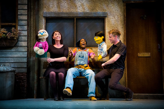 avenue q review sheffield lyceum july 2019 stage