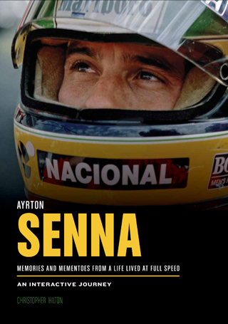 ayrton senna memories and mementoes christopher hilton book review cover