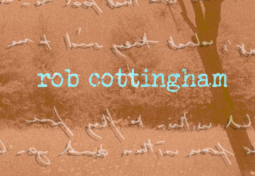 back behind the orchard tree rob cottingham album review logo main