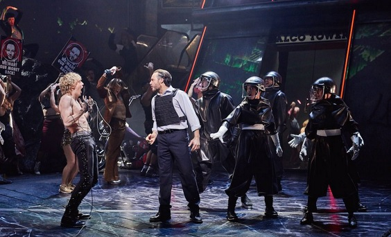 bat out of hell the musical review manchester opera house shock
