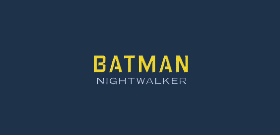 batman nightwalker book review logo