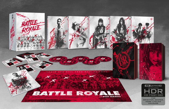 battle royale film review uhd packaging