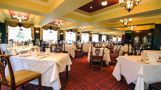 beech hill hotel review lake district dining room