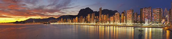 benidorm holiday review panoramic