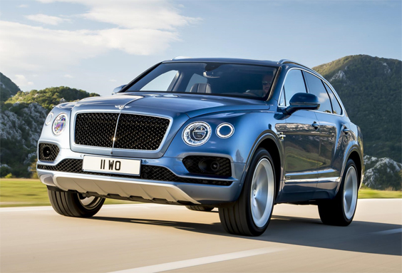 bentley bentayga diesel car review front