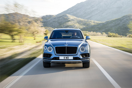 bentley bentayga diesel car review head on