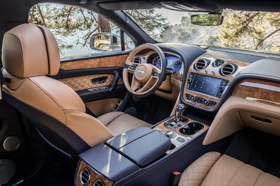 bentley bentayga diesel car review interior