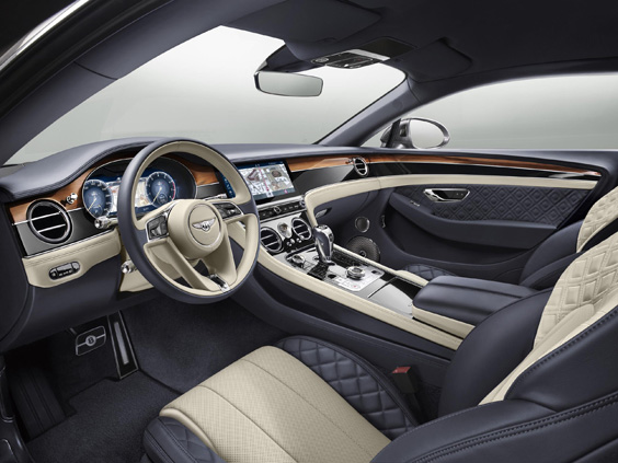 bentley continental gt w12 car review interior