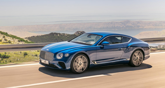 bentley continental gt w12 car review side