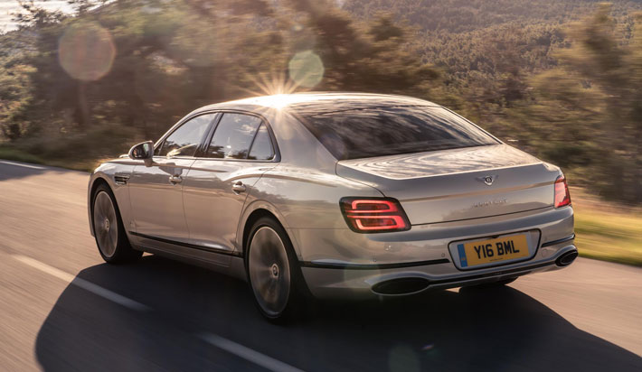 bentley flying spur car review back
