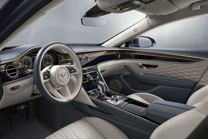 bentley flying spur car review interior