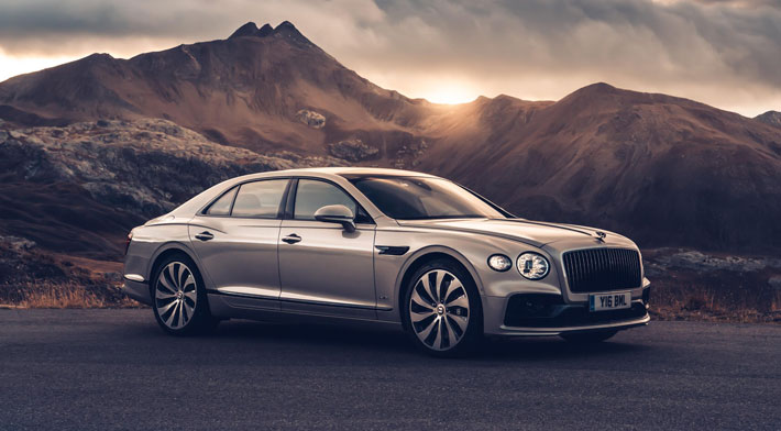 bentley flying spur car review side