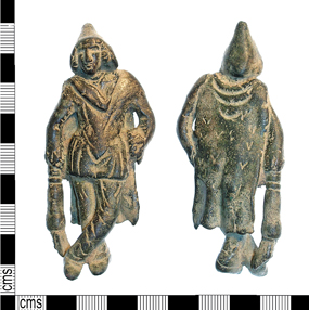 best roman finds portable antiquities scheme yorkshire copper-alloy figurine of Cautopates