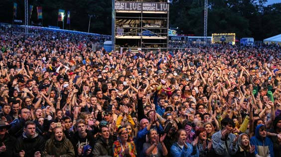 bingley music festival 2017 review crowd 15000