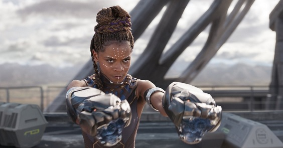 black panther film review fight