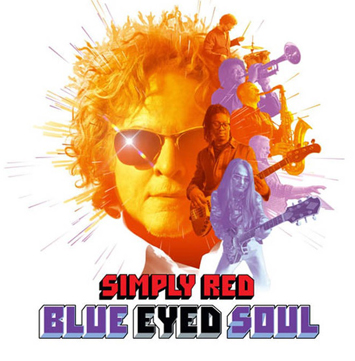 blue eyed soul simply red album review cover