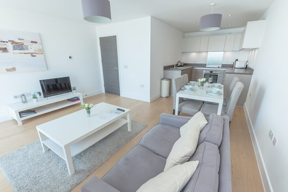 boardwalk apartments brighton review living room