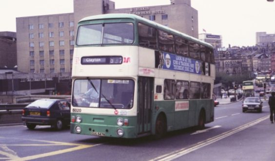 bradford buses history West Yorkshire PTE Verona green and cream livery