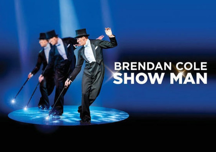 brendan cole show man review hull 2019 poster