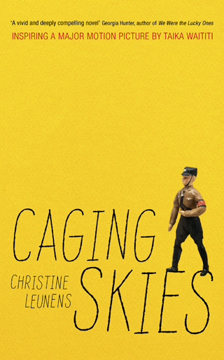 caging skies christine leunens book review cover
