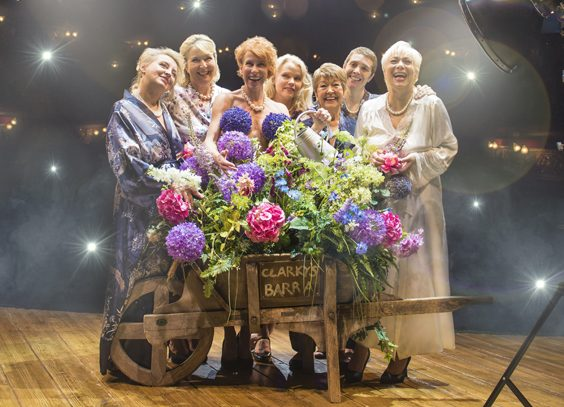 calendar girls musical review leeds grand theatre stage