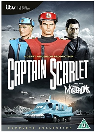 captain scarlet and the mysterons review dvd cover