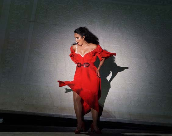 carmen on the lake review red dress