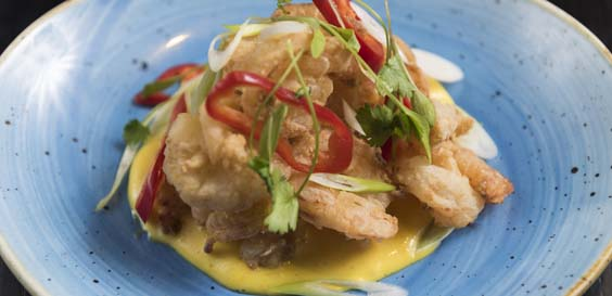 cau harrogate restaurant review shrimp chicharron