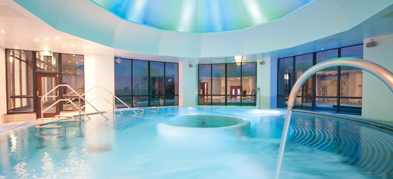 champneys springs spa review pool